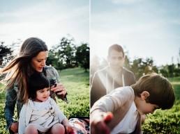 sesión de fotos en familia en vitoria